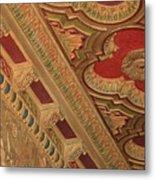 Tampa Theatre Ornate Ceiling Metal Print