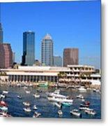 Tampa's Day Panoramic Metal Print