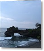 Tanah Lot Metal Print