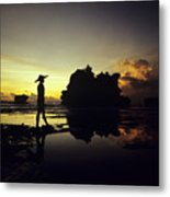 Tanah Lot Temple Metal Print