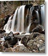 Tangle Falls Closeup 5 Metal Print