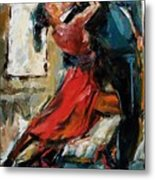 Tango By The Window Metal Print