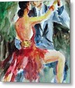 Tango In The Night Metal Print