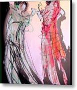 Tango Night Metal Print