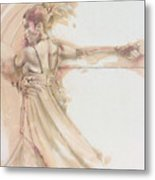 Tango Study 2 Metal Print
