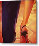 Tango Together Metal Print