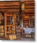 Tanning Room - Fort Ross California Metal Print