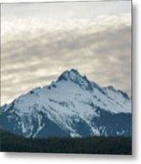 Tantalus Mountain Range Closeup Metal Print