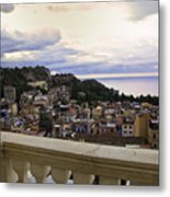 Taormina Balcony View 2 Metal Print