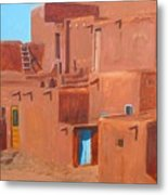 Taos Pueblo V Metal Print