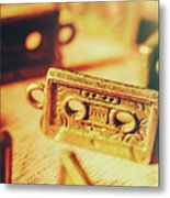 Tapes From The Golden Oldies Metal Print
