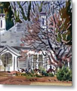 Tapp House Metal Print