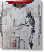Tapped Out Ale Metal Print