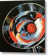 Tar Heel Martini III   Metal Print