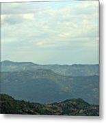 Tara Mountain West Serbia Landscape  Metal Print