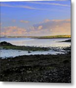 Tarbert Powerstation Metal Print