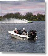 Taree Race Boats 2015 07 Metal Print