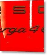 Targa Metal Print