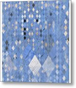 Targyle Uniform Pattern 1 Metal Print