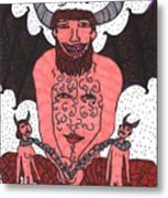Tarot Of The Younger Self The Devil Metal Print