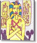 Tarot Of The Younger Self The Emperor Metal Print