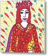 Tarot Of The Younger Self The Empress Metal Print