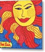 Tarot Of The Younger Self The Sun Metal Print