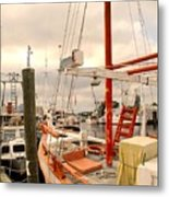 Tarpon Springs Harbor Metal Print