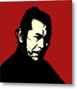 Tashiro Mifune Metal Print