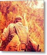 Tasmania Search And Rescue Ses Volunteer  Metal Print