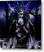 Taste Of Blood Metal Print