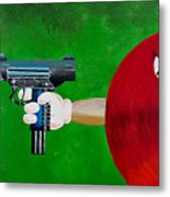 Taste The Rainbow Of Bullets Bitch Part 2 Metal Print