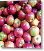 Tasty Fresh Apples 1 Metal Print