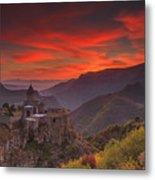 Tatev Monastery At Dawn Metal Print
