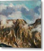 Tatry Mountains- Giewont Metal Print