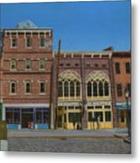 Tavern In Old Port Metal Print