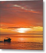 Taveuni Sunset Metal Print