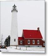 Tawas Point Lighthouse 2 Metal Print