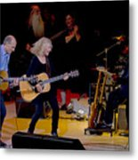 Taylor King And Group In Concert Metal Print