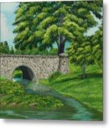 Taylor Lake Stone Bridge Metal Print