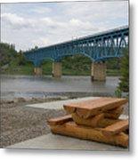 Taylor Peace River Bridge Metal Print