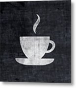 Tea And Coffee- Art By Linda Woods Metal Print