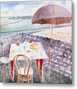 Tea At Furlongs Metal Print