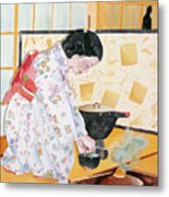 Tea Ceremony Metal Print