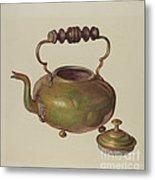 Tea Kettle Metal Print