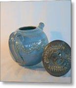 Tea Pot For Calming Metal Print
