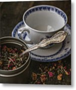 Tea Time 8529 Metal Print