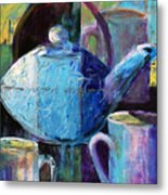 Tea With Friends Metal Print
