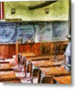Teacher - Pay Attention In Class Metal Print by Mike Savad
