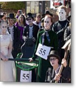 Team 55 At Emma Crawford Coffin Races In Manitou Springs Colorado Metal Print